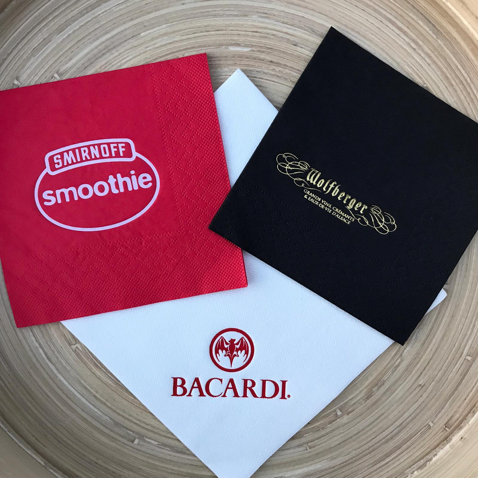 Cocktail Napkins - Custom Printed