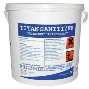 6040477 - Diversey Titan Sanitiser Powder 10KG - Each - 6040477