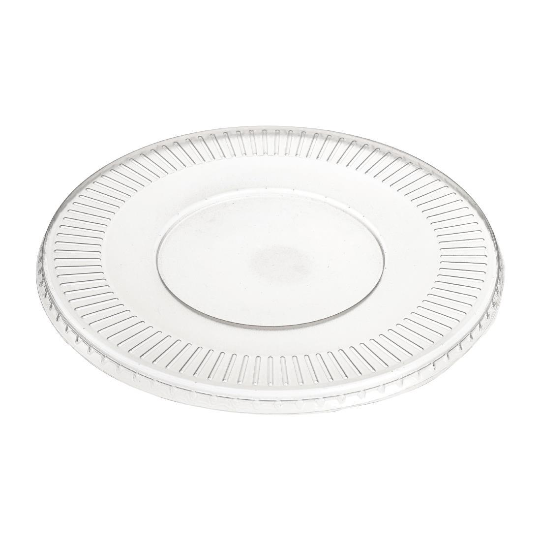 FD931 - Solia Recyclable Polypropylene Mix Bagasse Bowl Lids 1150ml  - Pack of 50 - FD931