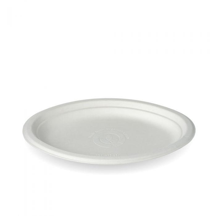 "1389 - BioPak 10""X7"" Small Oval Plate  - Case of 500 - 1389"