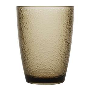 DC931 - Kristallon Polycarbonate Tumbler Pebbled Tan 275ml - Case 6 - DC931