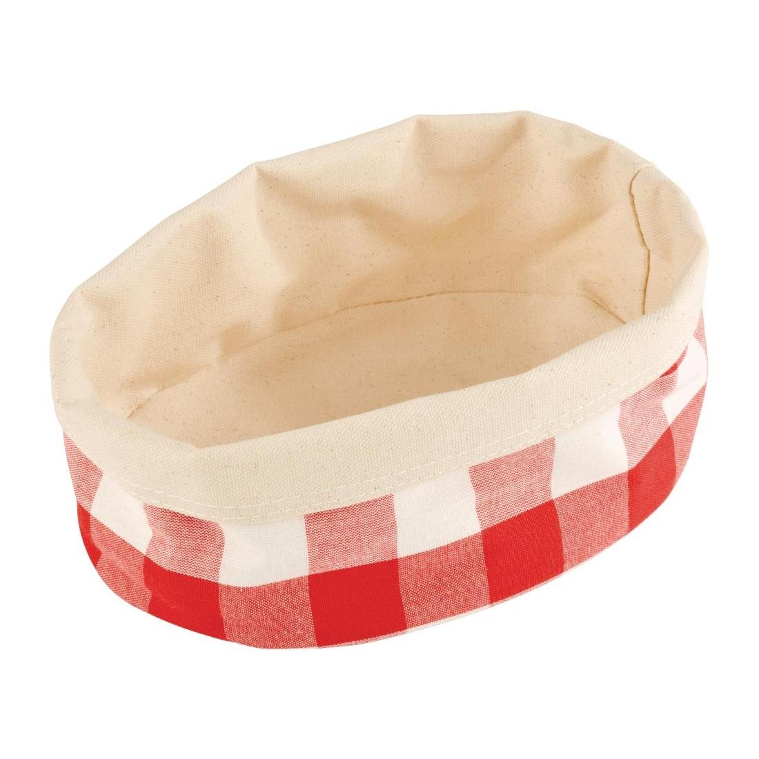 DA656 - APS Bread Basket Oval Small Red - Each - DA656