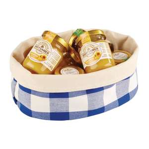 DA659 - APS Bread Basket Oval Large Blue - Each - DA659