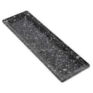 GL607 - Z-DISCONTINUED APS Granite Effect Melamine Tray GN 2/4 - Each - GL607
