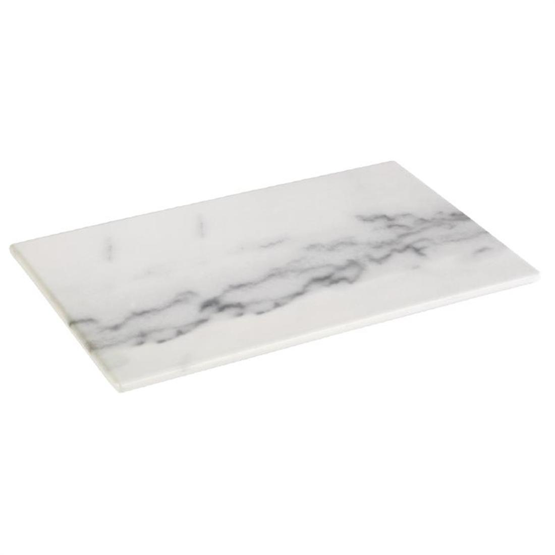 HC755 - Z-DISCONTINUED APS Melamine Tray Marble GN 1/4 - Each - HC755