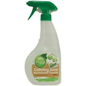 T03MAX - Maxima Green Catering Zone Bactericidal Spray - 1 x 750ml - T03MAX **