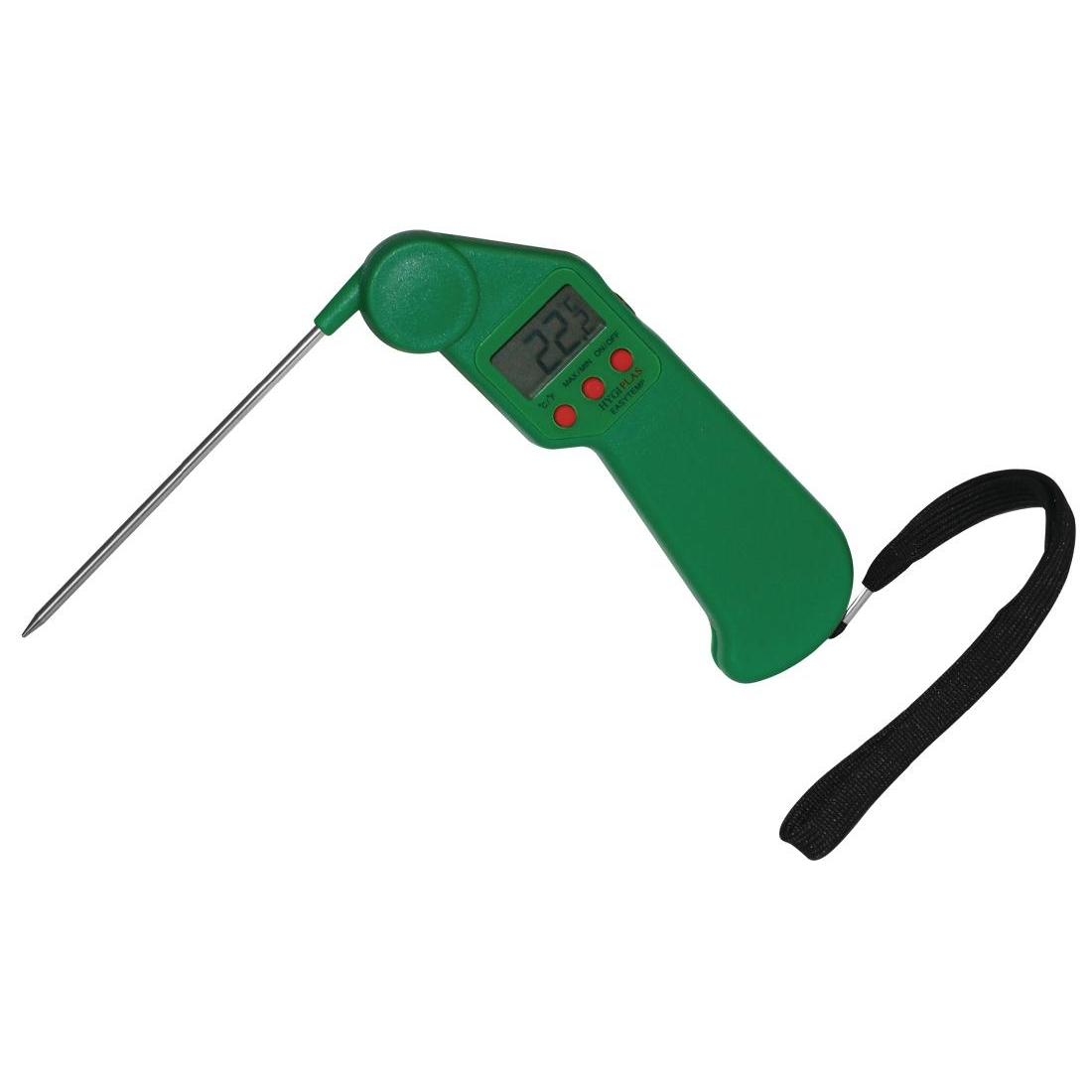 CF911 - Hygiplas Easytemp Colour Coded Green Thermometer- Each - CF911
