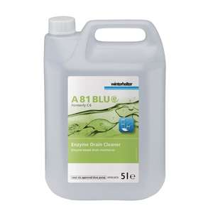 GP459 - Winterhalter A81 BLUe Enzyme Drain Maintainer Concentrate 5 Litre - Each - GP459