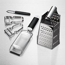 Peelers, Graters & Garnishing