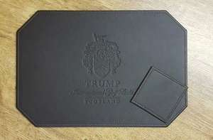 CUSTOM-COASTERS-NSPMAT - Leather & Vinyl Placemats - Custom Branded