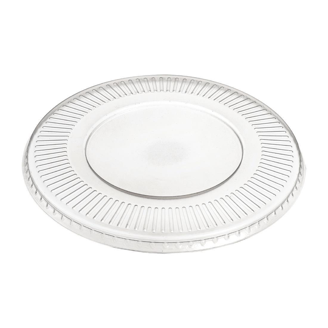 FD932 - Solia Recyclable Polypropylene Mix Bagasse Bowl Lids 1500ml  - Pack of 50 - FD932