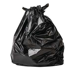 Jantex Large Biodegradable Bags 80 Litre Black Pack of 200