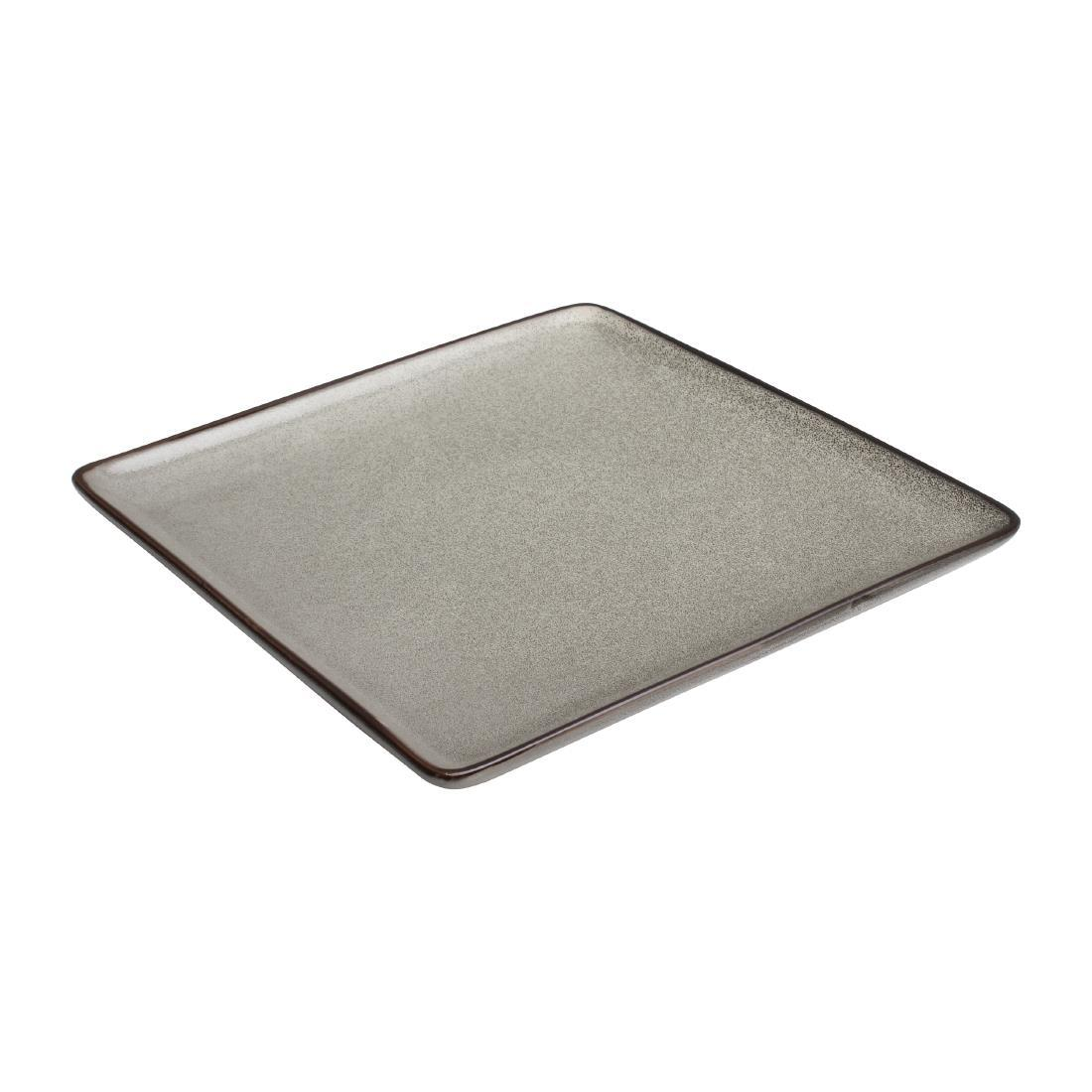 DF172 - Olympia Mineral Square Plate 230mm - Case  - DF172