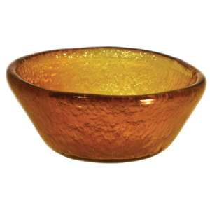 DM382 - Olympia Mini Glass Bowls Gold 90mm - Case  - DM382