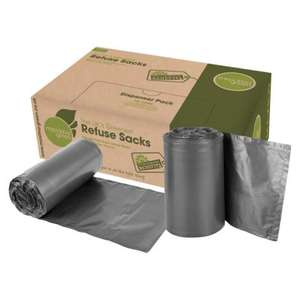 MAXLD - Maxima Green Refuse Sacks Light Duty 18x29x39 - Case 200 - MAXLD