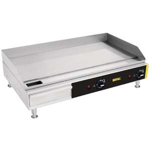 Buffalo Countertop Extra Wide Steel Plate Griddle - G791
