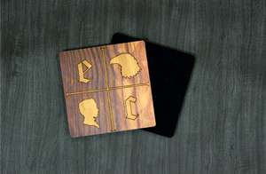 CUSTOM-COASTERS-WOODEN - Wooden Coasters - Custom Branded - CUSTOM-COASTERS-WOODEN