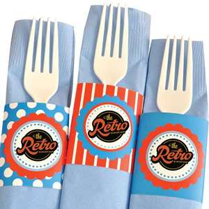 CUSTOM-NAPKINBANDS - Custom Printed Napkin Bands