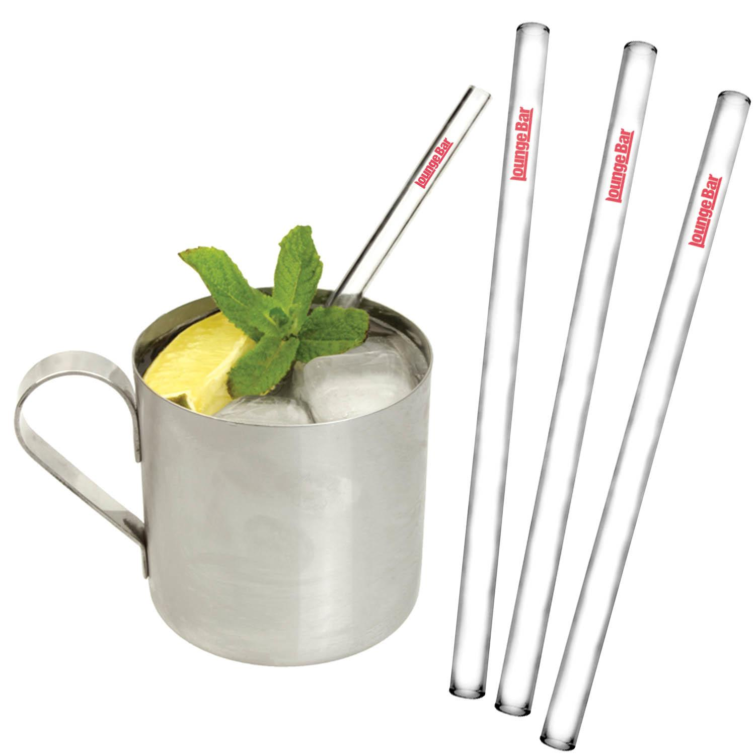 Glass Straws - Custom Printed