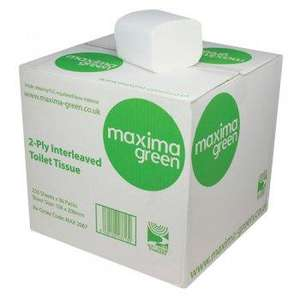 NW2067 - Maxima Green Bulk Pack Toilet Tissue - 36 x 250sheets - NW2067