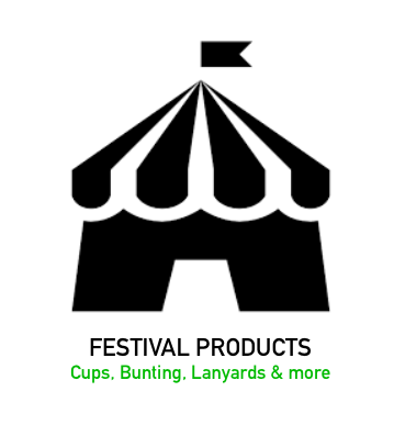 Festival Products - Custom Branded