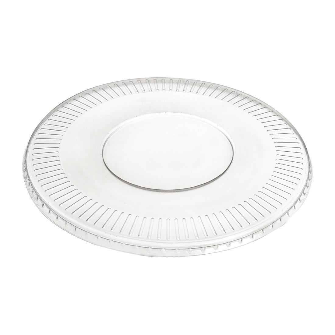 FD930 - Solia Recyclable Polypropylene Mix Bagasse Bowl Lids 700ml  - Pack of 50 - FD930