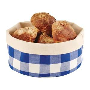 DA653 - APS Bread Basket Round Small Blue - Each - DA653