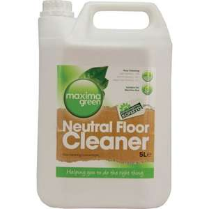 F176MAX - Maxima Green Neutral Floor Cleaner - 5Litre - F176MAX **