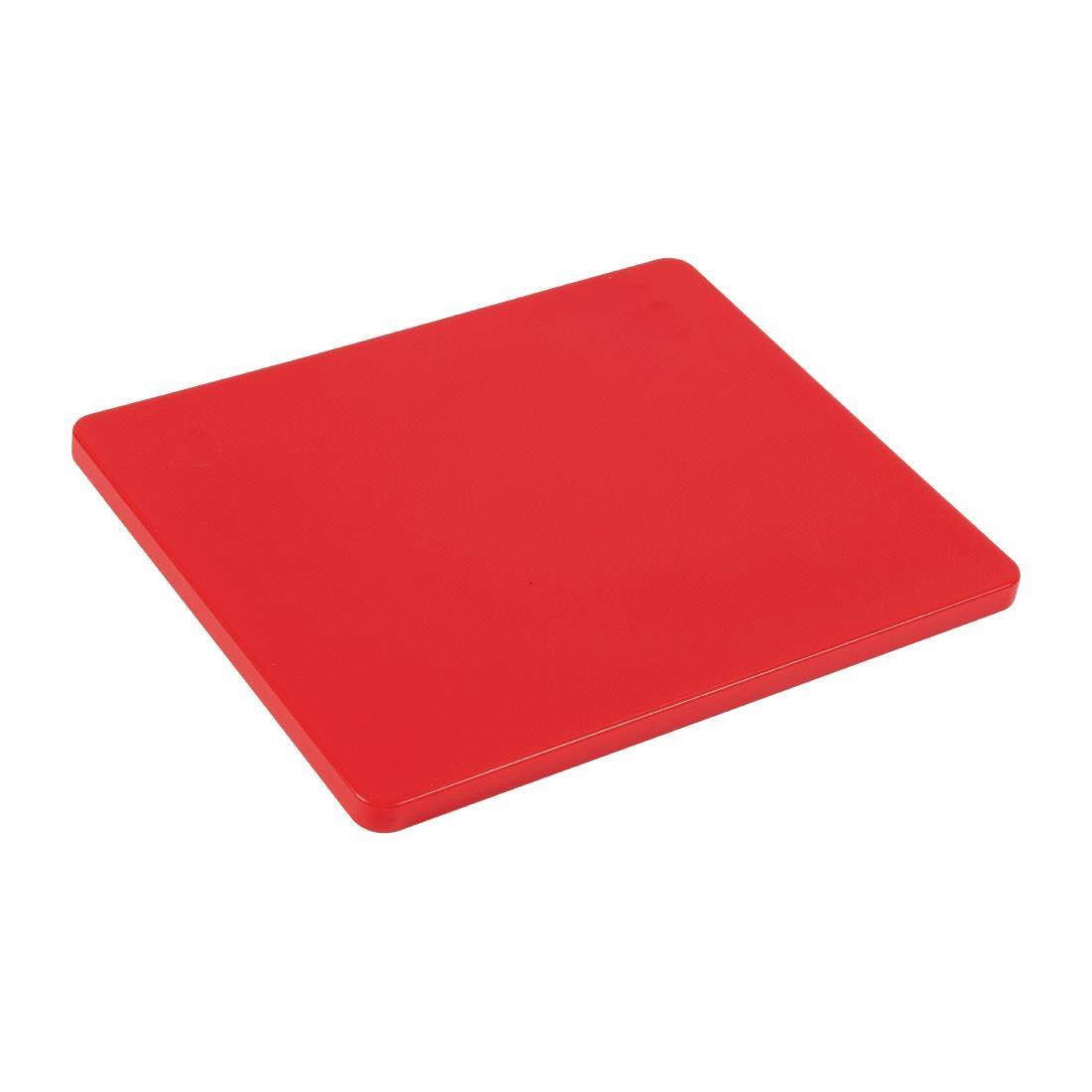 GL289 - Hygiplas Gastronorm 1/2 Red Chopping Board- Each - GL289