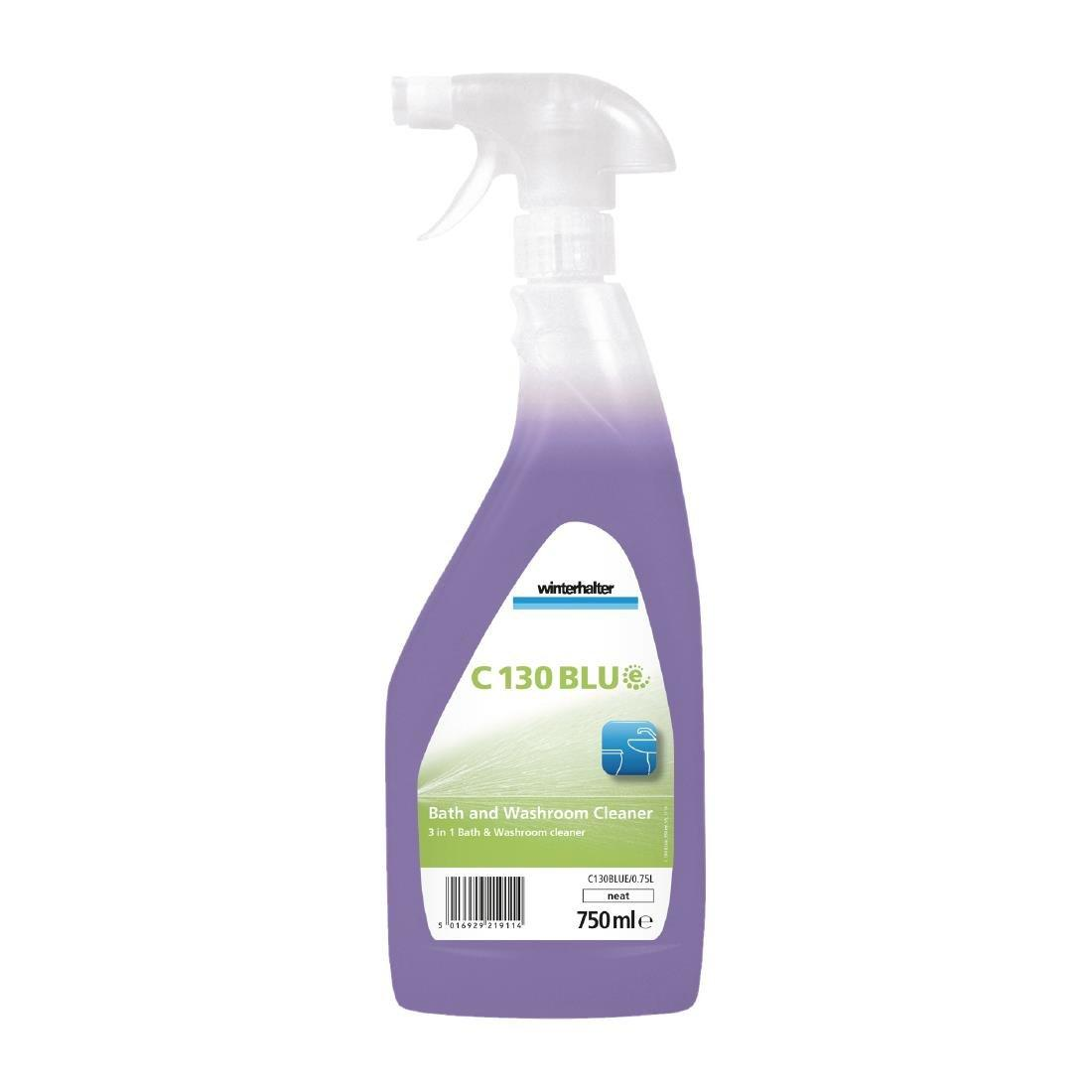 DR285 - Winterhalter C130 BLUe Bath and Washroom Cleaner Ready To Use 750ml - Pack of 6 - DR285