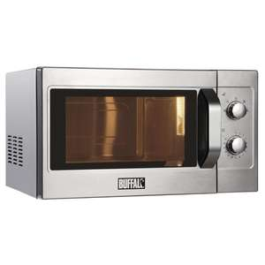 GK643 - Buffalo Manual Commercial Microwave Oven 1100W - GK643