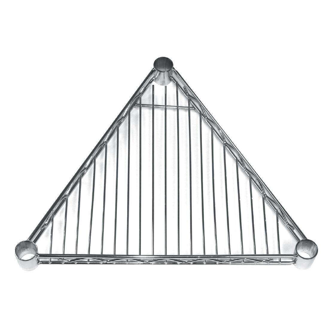 GF982 - Triangular Shelf for Vogue Wire Shelving 457mm - Pack of 4 - GF982