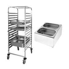 Gastronorm Racks and Trolleys