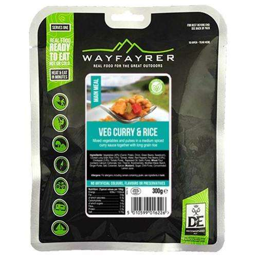 wayfayrer vegetable curry mre army camping food
