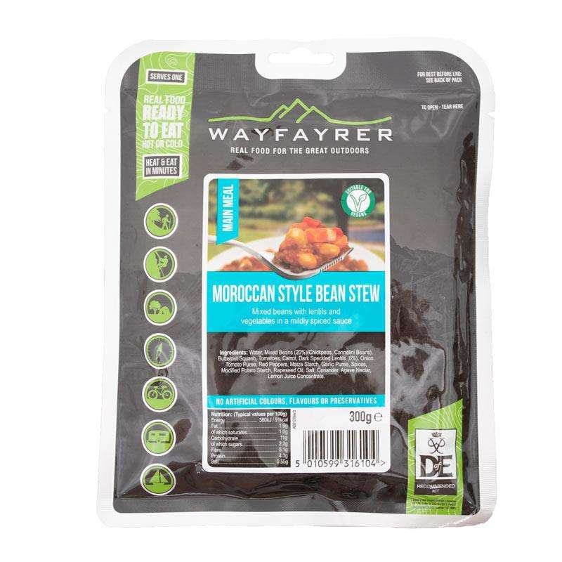 wayfayrer moroccan style bean stew army mre camping food