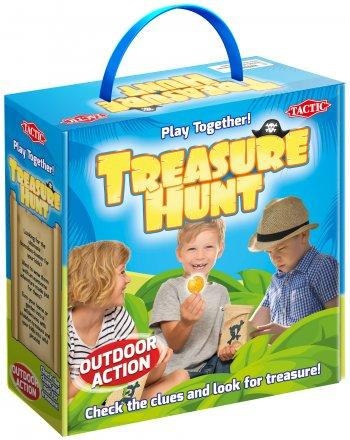 Tactic treasure hunt outdoor game