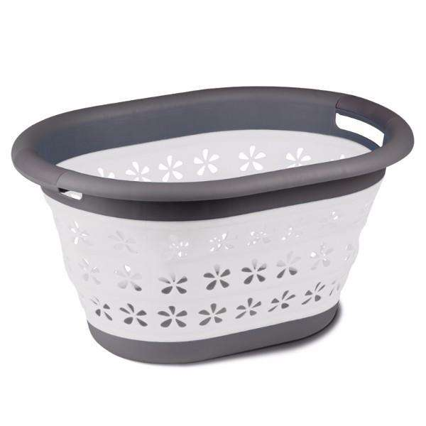 Kampa Collapsible Laundry Basket Grey