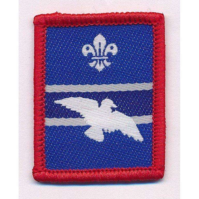 woodpigeon scout patrol badge