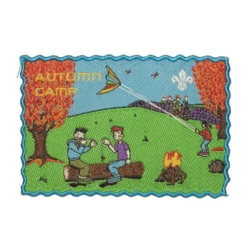 FUN BADGE AUTUMN CAMP SCOUTS