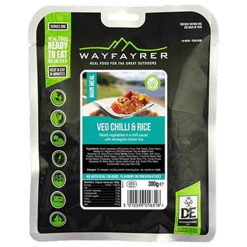 wayfayrer vegetable chilli mre army camping food