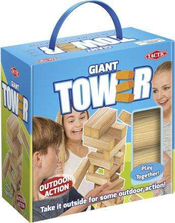 Giant XL tower jenga game toy