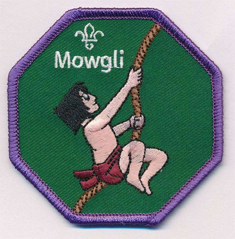 Mowgli Cub Scouts Fun Badge