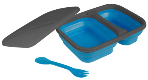 kampa folding lunch box spork collapsible