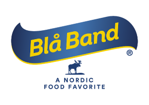 Company Bla Band logo in Blue & Yellow