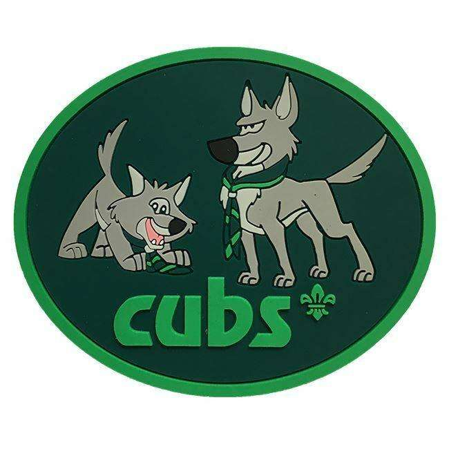 Cubs Snaggle and Waggle PVC Magnet