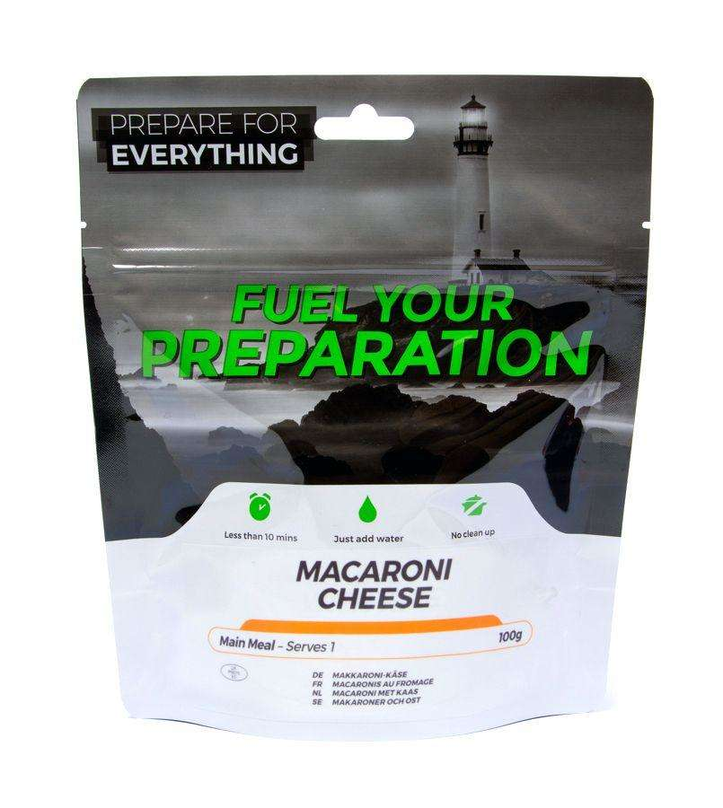 Fuel Your Preparation macroni cheese camping outdoor meal