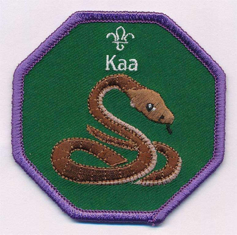 Kaa Cub Scouts Fun Badge