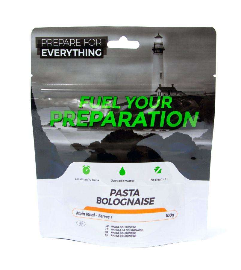 Fuel Your Preparation pasta bolognese camping outdoor meal