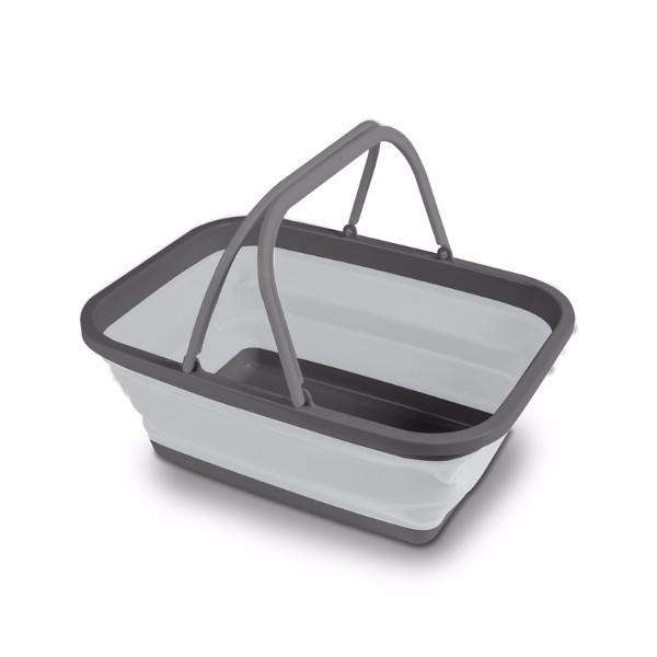 Washing Collapsible Basket Medium Grey Kampa