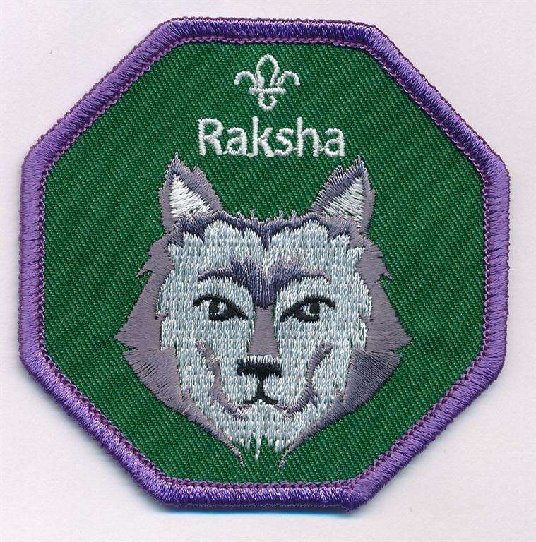 Raksha Cub Scout Fun Badge